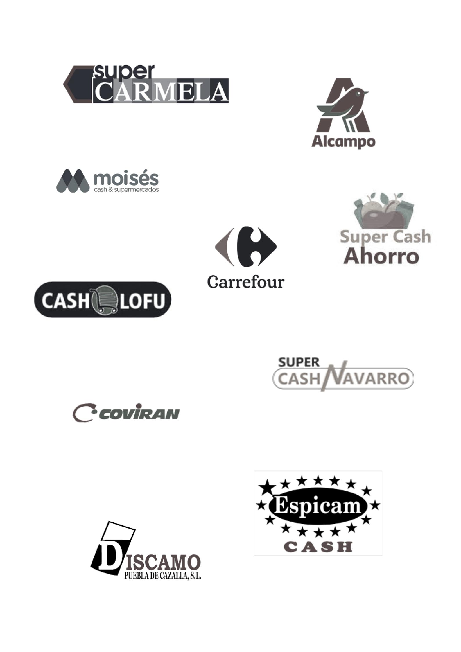 Supermercados y Cash para productos Valdeporres