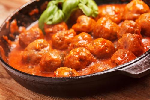 Albondigas en salsa de tomate Valdeporres
