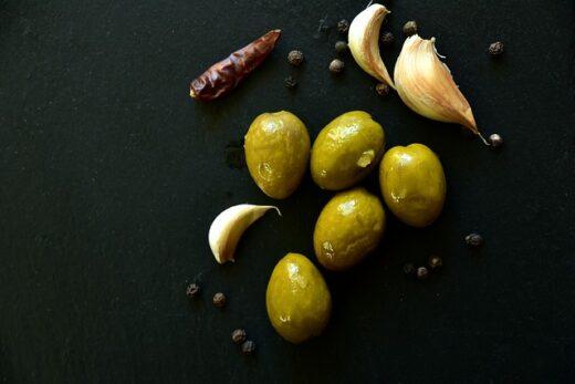 tipos de aceituna verde
